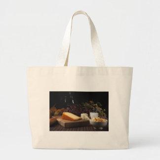 Still Life Feast Jumbo Tote Bag