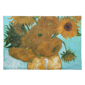 Still Life: Sunflowers - Vincent van Gogh Placemat