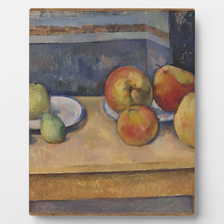 Still Life with Apples and Pears Photo Plaque