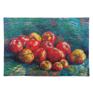 Still Life with Apples by Vincent Van Gogh Placemat
