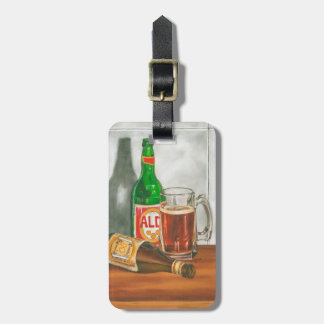 Still Life with Beer by Jennifer Goldberger Luggage Tag