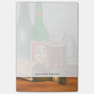 Still Life with Beer by Jennifer Goldberger Post-it Notes