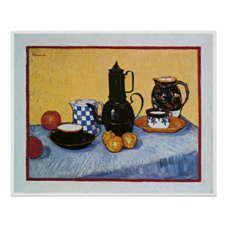 Still Life with Coffee Pot by Vincent Van Gogh Poster