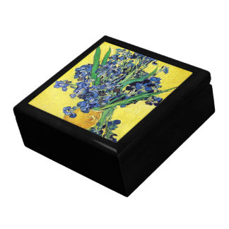 Still Life with Irises Vincent van Gogh Gift Box