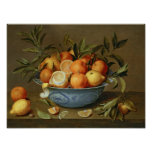 Still Life with Oranges and Lemons Print