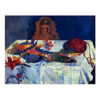 'Still Life with Parrots' - Paul Gauguin Postcard