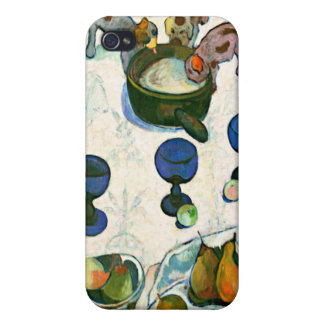 Still Life with Three Puppies, Paul Gauguin Covers For iPhone 4