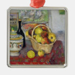 Still Life with Tureen, c.1877 Silver-Colored Square Decoration