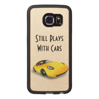 Still Plays With Cars Wood Case