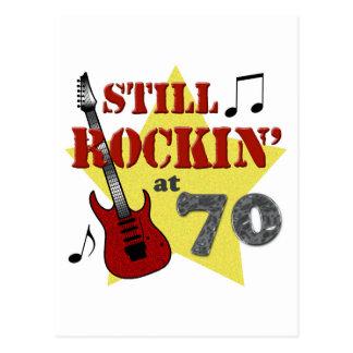 Still Rockin' At 70 Postcard