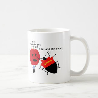 Stink Bug Apple Coffee Mug