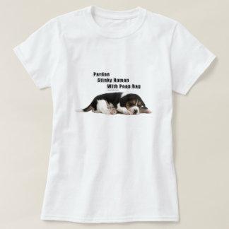 Stinky Human With Poop Bag T-Shirt