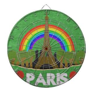 Stitch Eiffel Tower Dartboard With Darts