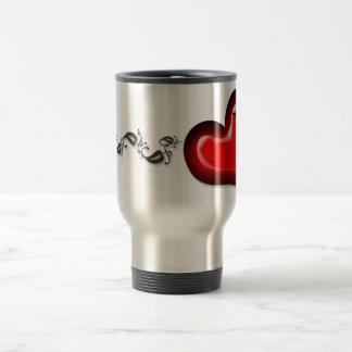 Stitched Heart Mug