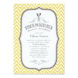 Stock the Kitchen Bridal Shower Invitations 13cm X 18cm Invitation Card