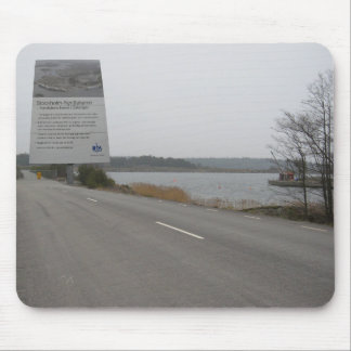 Stockholm Norvik Port site. Mouse Pad