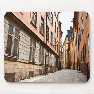 Stockholm old town mousepad