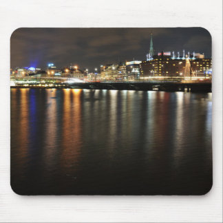 Stockholm, Sweden at night Mouse Pad