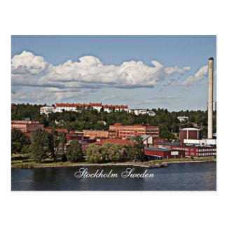 Stockholm Sweden Scene Postcard