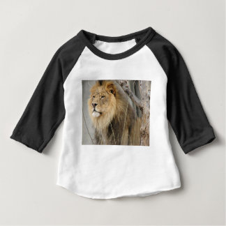 Stoic Lion Looking Off into the Distance Baby T-Shirt