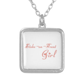 Stoke-on-Trent Girl Silver Plated Necklace