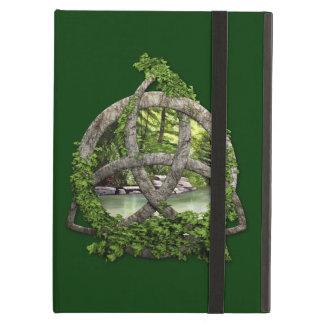 Stone Celtic Trinity Knot iPad Air Cover