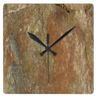 Stone Square Wall Clock