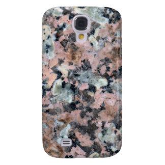 Stone Texture: Dark Granite Galaxy S4 Case