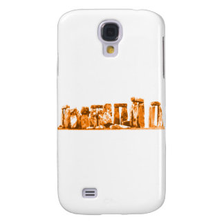 Stonehenge Orange The MUSEUM Zazzle Gifts Samsung Galaxy S4 Cover