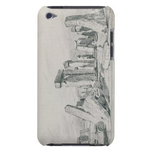 Stonehenge, Wiltshire, 1820 (drawing) iPod Case-Mate Cases