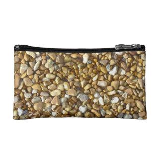 Stones On Brighton Beach Cosmetic Bag