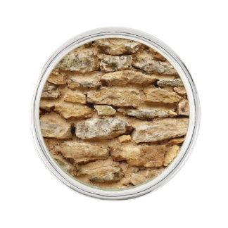 Stonework Lapel Pin