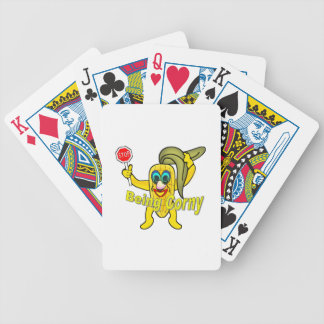 Stop Being So Corny Bicycle Playing Cards