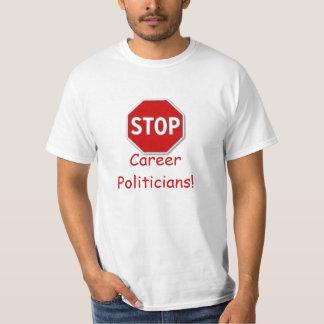 Stop, Career Politicians! TERM LIMITS T-shirts