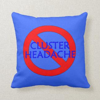 Stop CH Blue Pillow