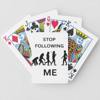 stop following me poker deck