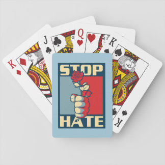 Stop Hate magic trick! Playing Cards