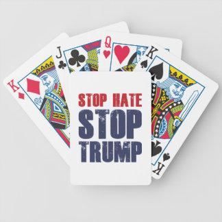 Stop Hate Stop Trump Poker Deck