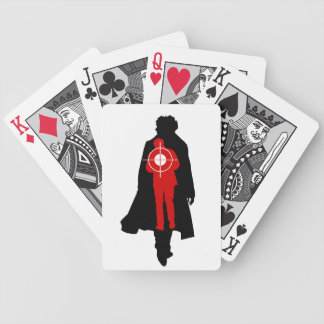 Stop His Heart Bicycle Playing Cards