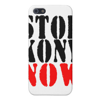 STOP KONY NOW i iPhone 5 Cover