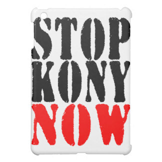 STOP KONY NOW  COVER FOR THE iPad MINI