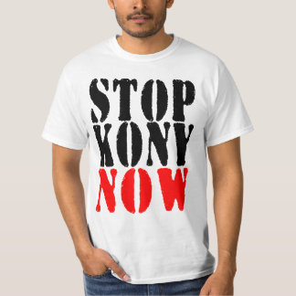 STOP KONY NOW T-shirt