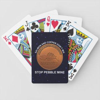 Stop Pebble Mine - Pebble Mine Penny Poker Deck