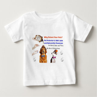 Stop poisoning your pets! t-shirts