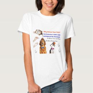 Stop poisoning your pets! tees