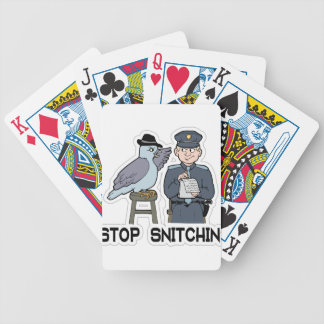 stop snitching pigeon poker deck
