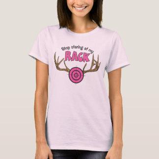 Stop Staring At My Rack T-Shirt