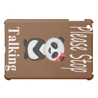Stop Talking Panda iPad Mini Covers