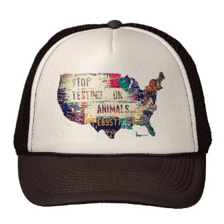Stop Testing on Animals in the United States Cap