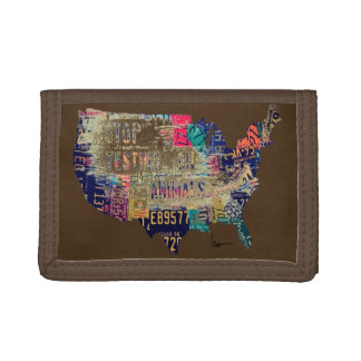 """""""STOP Testing on Animals in the United States"""" Trifold Wallet"""